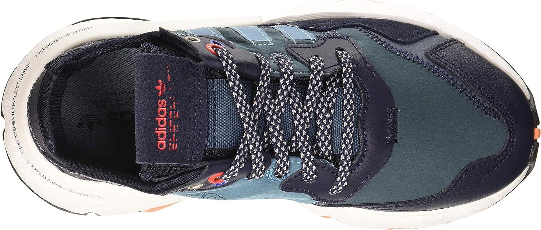 adidas Nite Jogger J, Basket Mixte Enfant Legacy Blue Tactile Steel F17 Legend Ink