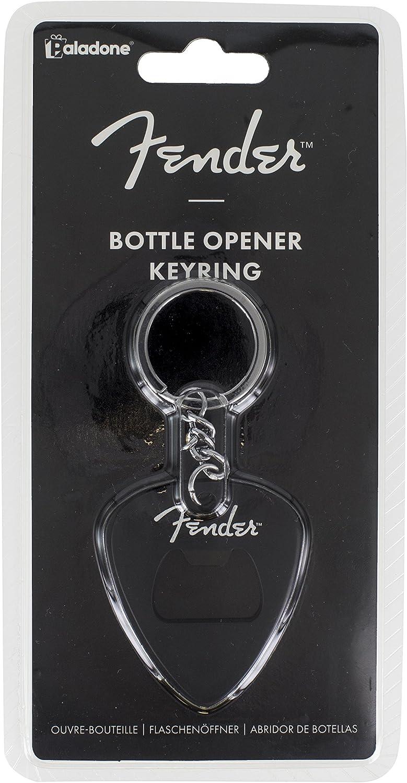 Paladone Fender Guitar Pick Bottle Opener Keyring Novelty Keychain