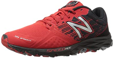 0d393bfc9df New Balance Men's MT690v2 Responsive Trail Running Shoe, Red/Black, 9 D US