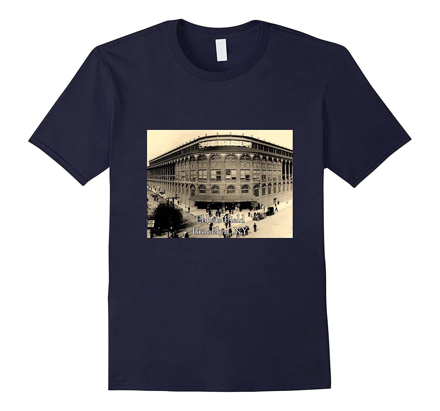 Ebbets Field, Brooklyn, NY - Historic Ballpark-Art