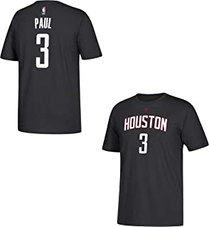 Chris Paul Houston Rockets Black Name and Number T-shirt