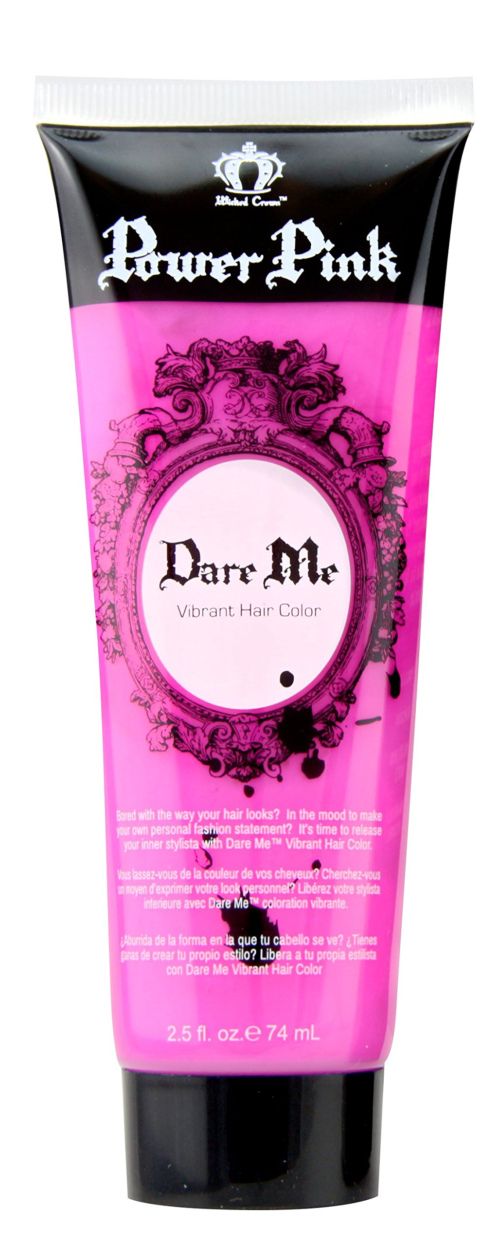 Amazon Wicked Crown Dare Me Vibrant Hair Color Gel Purple