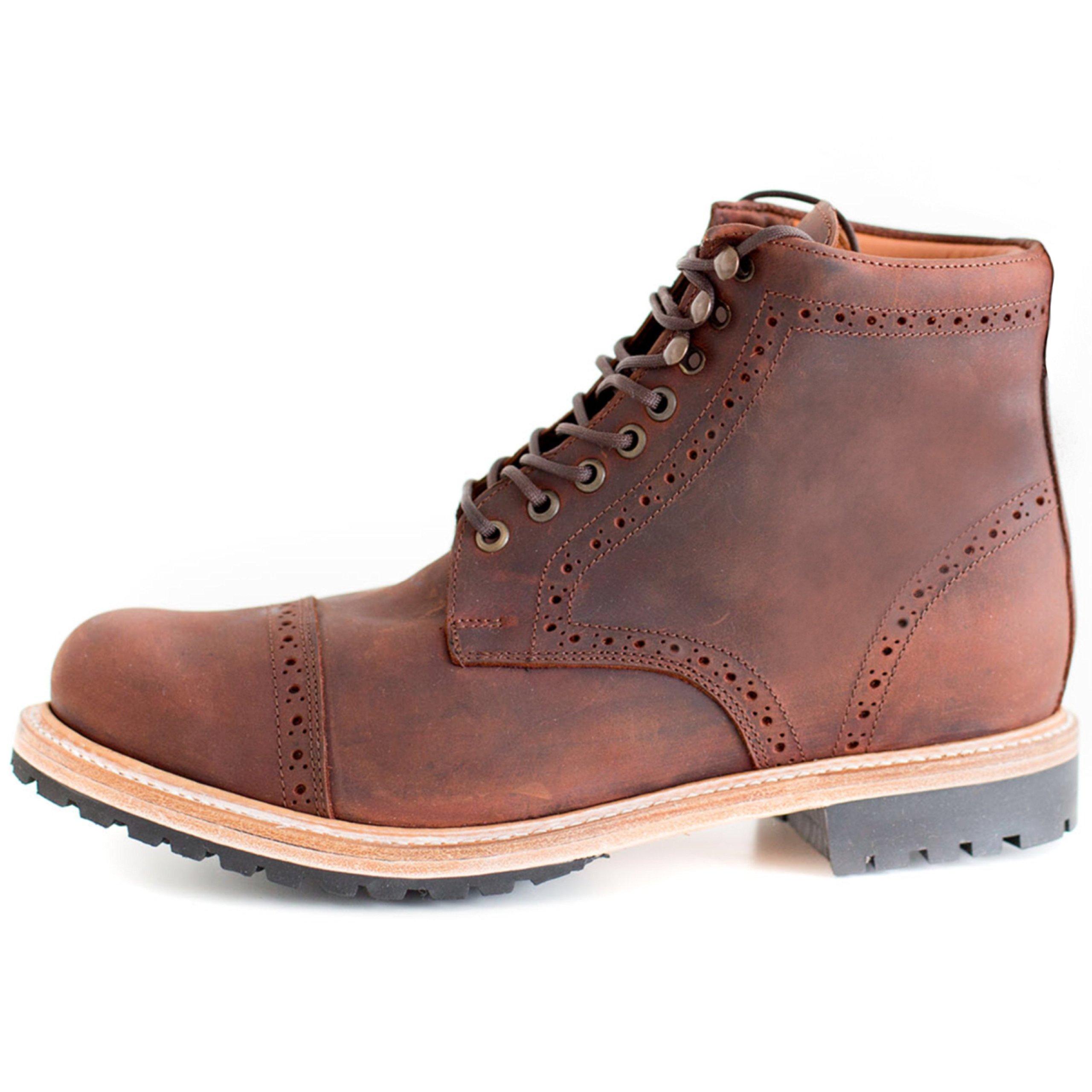 Wilcox Boots | Classic Style + Premium Comfort Fairfax Rust Brown-13