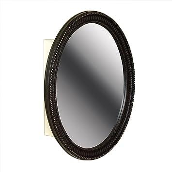 oil rubbed bronze bathroom mirror frame zenith oval medicine cabinet metal framed