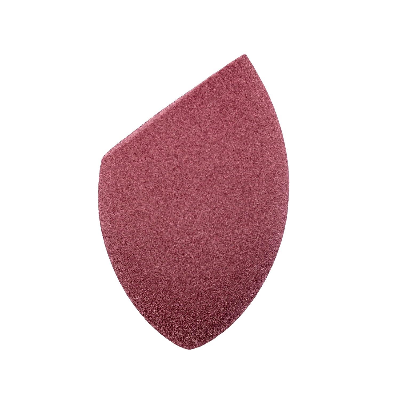 Infusions Beauty Blender - Esponja de maquillaje con acabado impecable, borde plano, lá tex, vino rojo látex