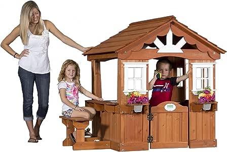 Amazon.com: Backyard Discovery Scenic All Cedar Outdoor ...