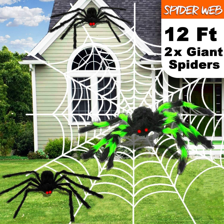 Amazon Halloween Decorations Outdoor 1000sqft Halloween