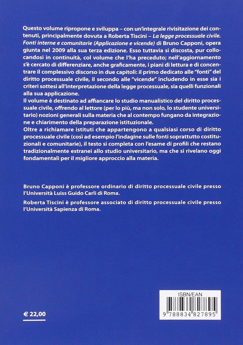Introduzione al diritto processuale civile