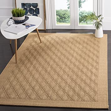 Amazon Com Safavieh Palm Beach Collection Pab351m Sisal Jute Area Rug 3 X 5 Maize Furniture Decor