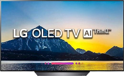 65 inches OLED LG OLED65B8PTA 4K Smart TV (Black)