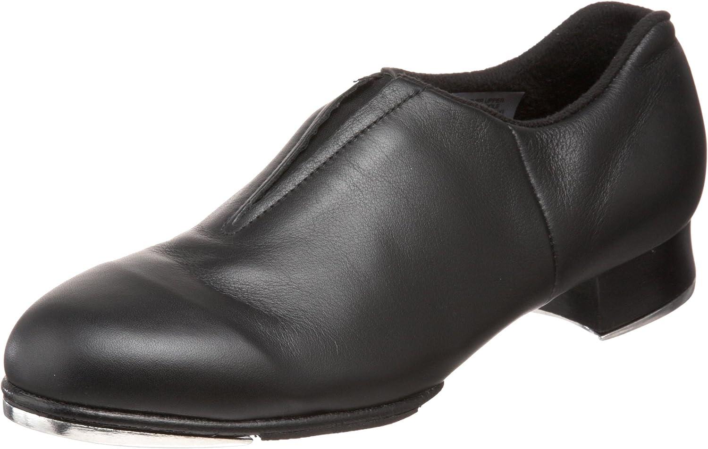 Bloch Dance Women's Tap-Flex Leather Slip On Tap Shoe