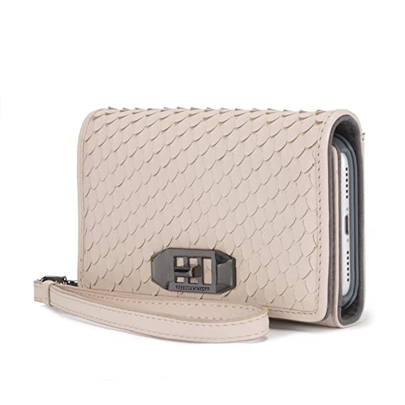 info for 2f4bb 0ca50 Amazon.com: Rebecca Minkoff Love Lock Wristlet for iPhone X - Nude ...