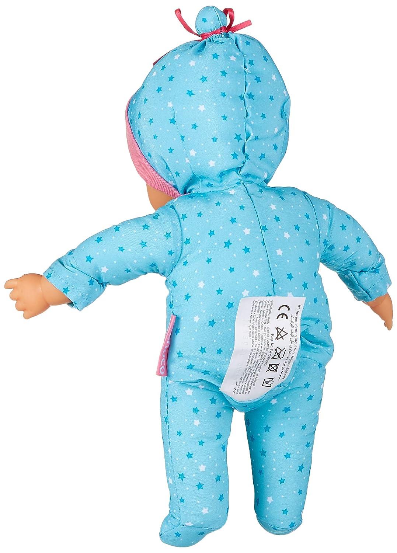 Nenuco de Famosa Saquito Mágico, muñeca bebé con luces y sonidos para niñas y niños a partir de 10 meses (Famosa 700015021)