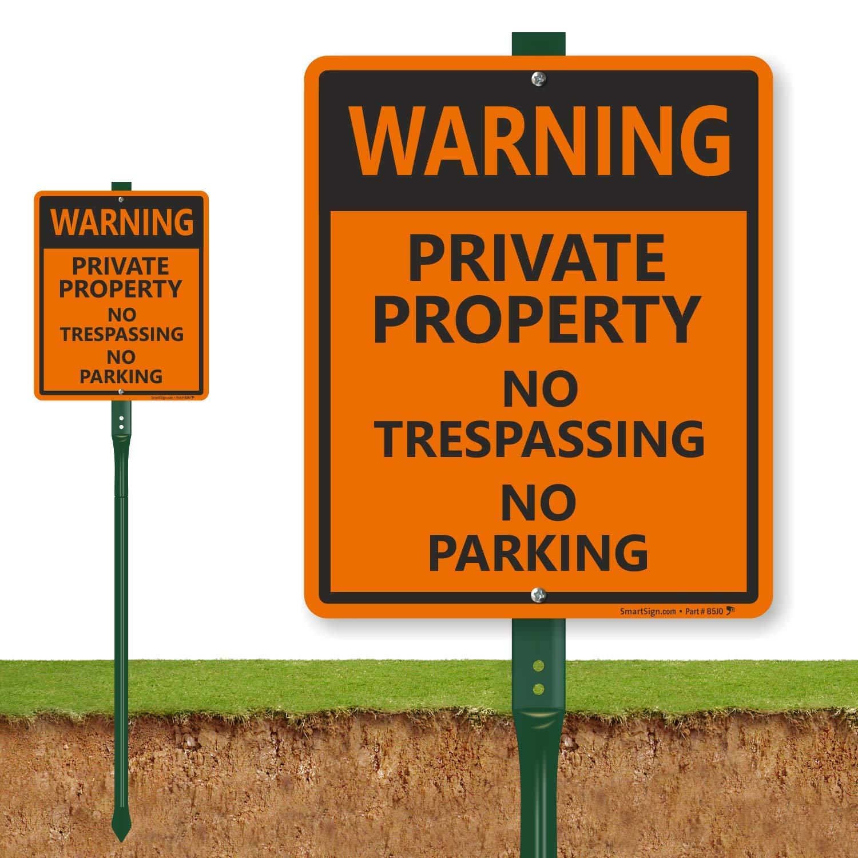 Aviso - propiedad privada No Trespassing no señal de ...