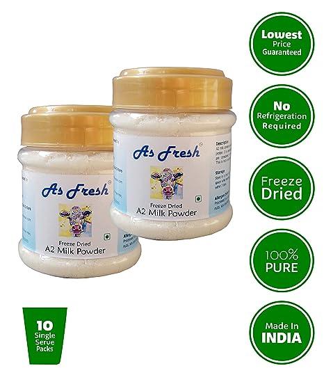 As Fresh Dried A2 Cow Milk Powder 2 X 100 G Amazonin Grocery Gourmet Foods