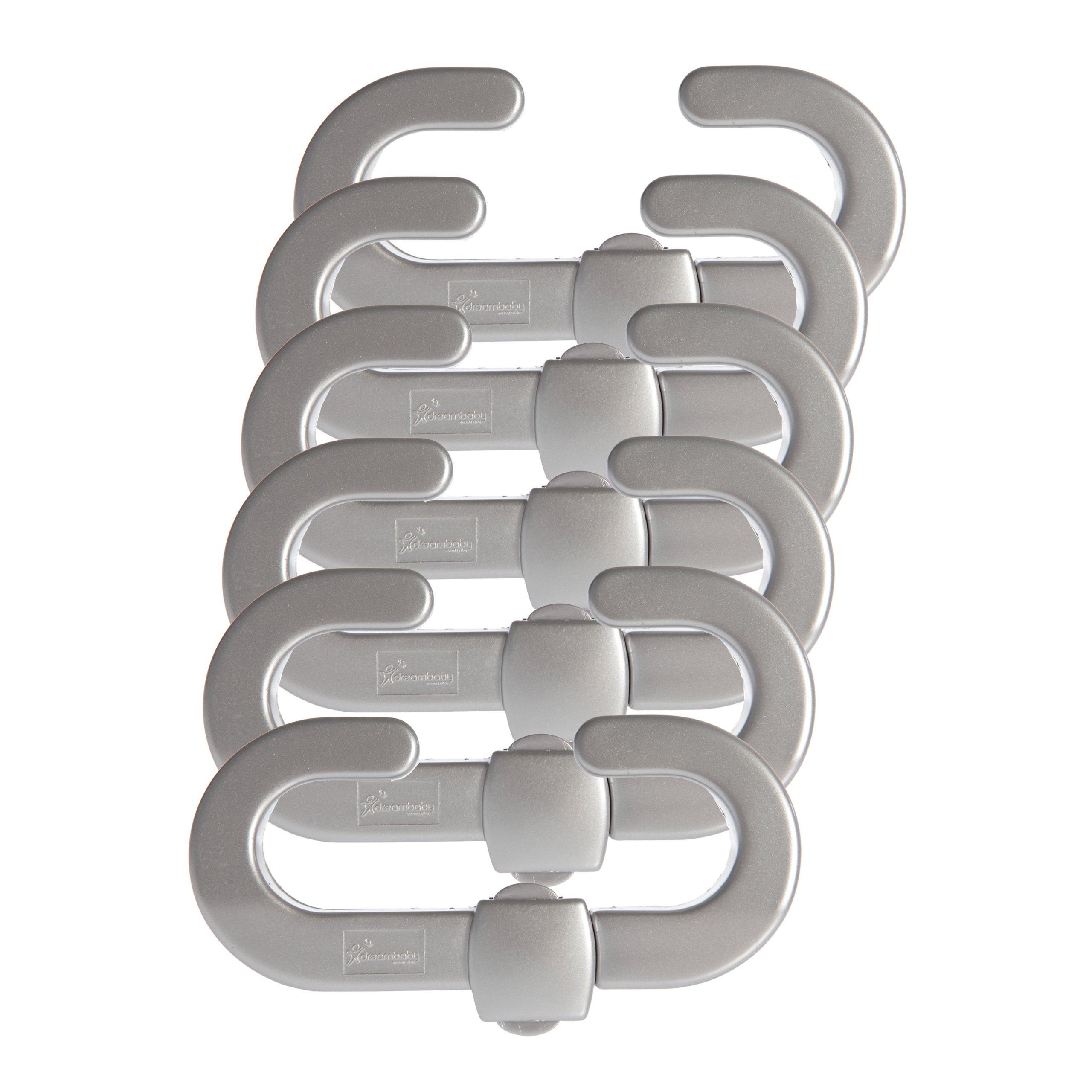 Dreambaby Silver Style Range Secure-A-Lock, Silver