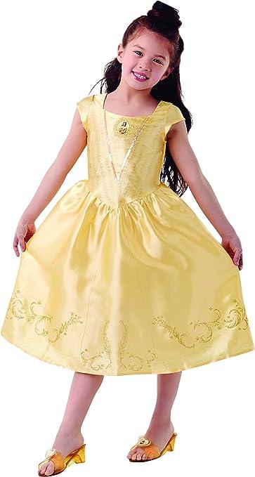 Princesas Disney - Disfraz de Bella para niña, infantil 3-4 años ...
