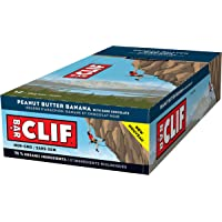 Clif Bar Energy Bar Peanut Butter Banana Dark Chocolate, 68g, 12 Count