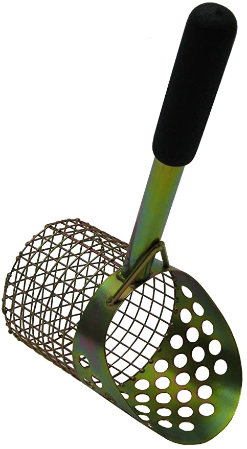 "15"" Single Perforated Metal Detecting Beach Scoop"