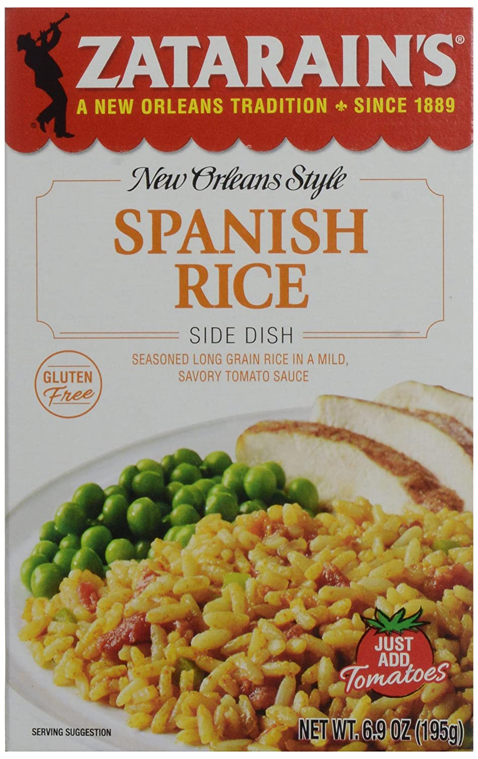 Zatarains Rice, Spanish, 6.9 Oz