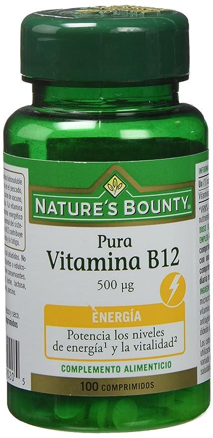 Natures Bounty Vitamina B12 500 Μg - 100 Comprimidos