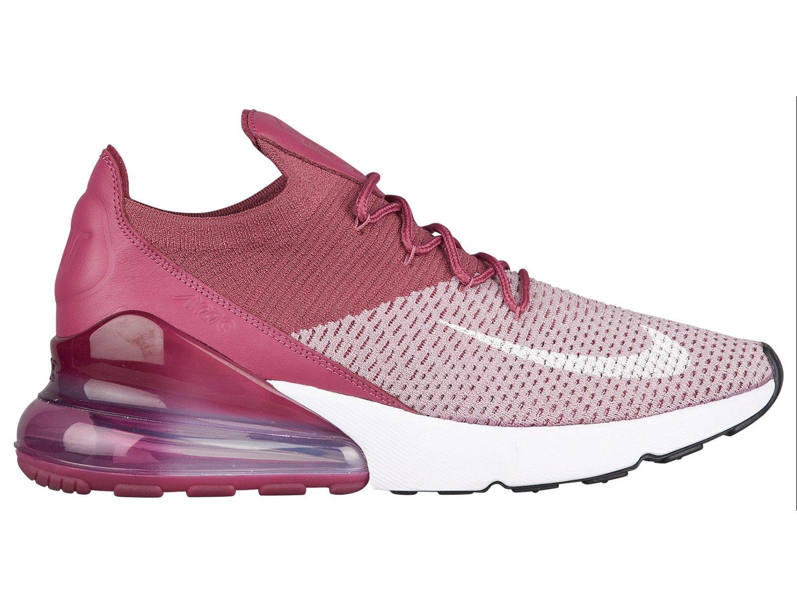 Nike Men's Air Max 270 Running Shoe (10.5 D(M) US, Plum FogWhiteVintage WineTotal Crimson)