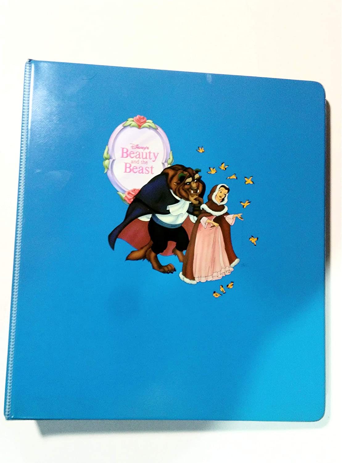 1992 Pro Set. Collectable Vintage Beauty and The Beast Trading Cards in Album