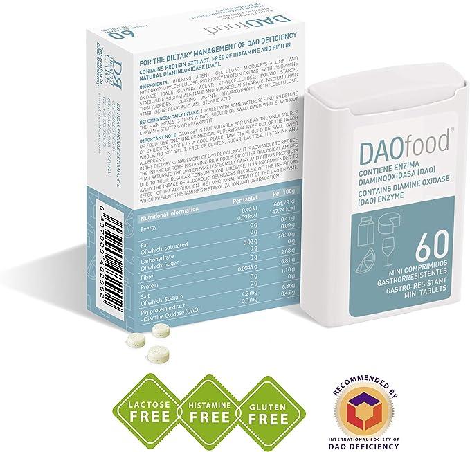 Daofood - Manejo Dietético del Déficit de Dao – Dispensador ...