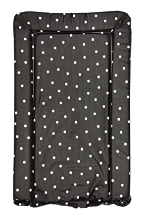 f39fb2b1fa6f Black with White Polka Dots Baby Changing Mat: Amazon.co.uk: Clothing