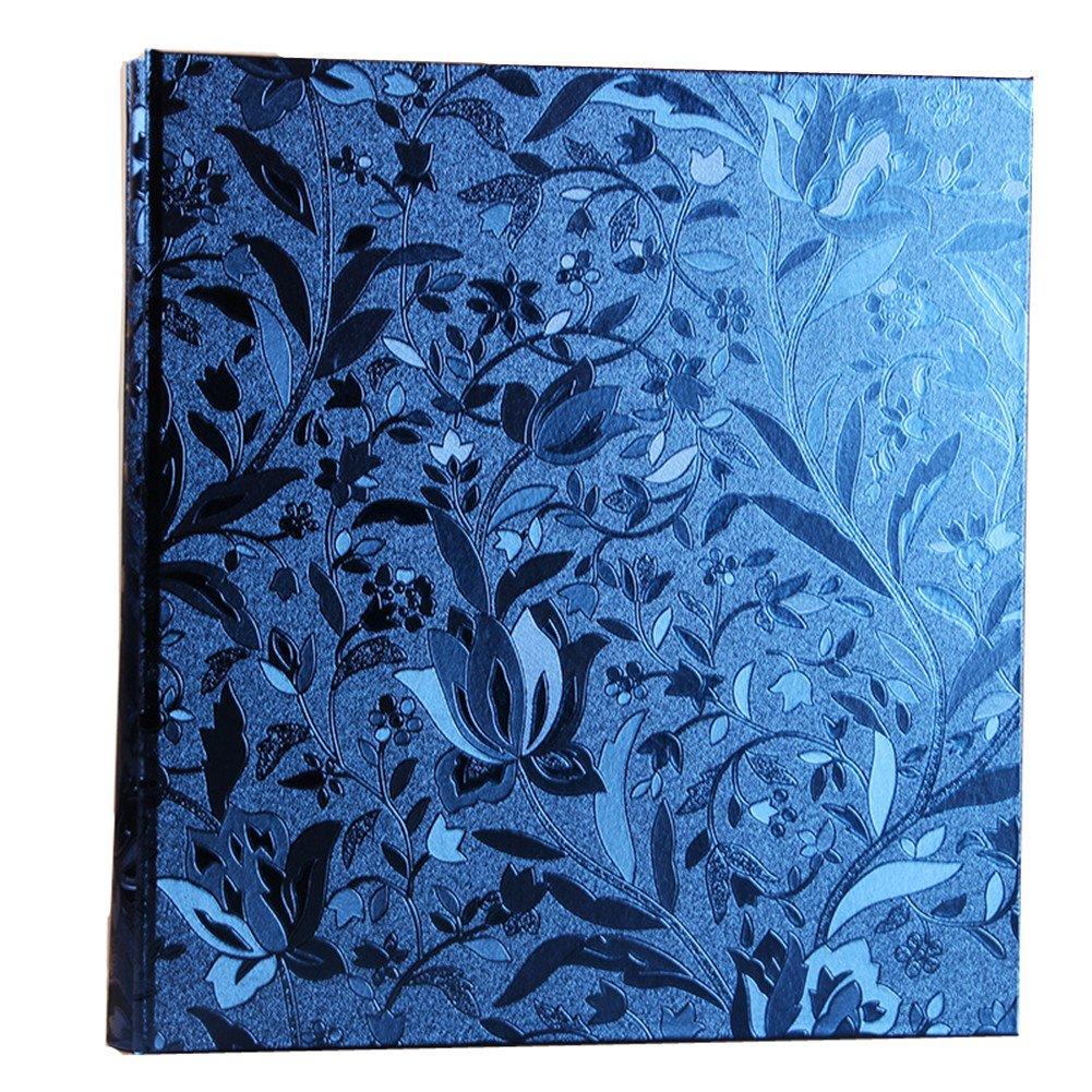 Ksmxos Frame Cover Photo Album 600 Pockets Holds 4x6 Photos Sapphire