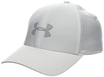 Under Armour Mens Driver Cap 3.0 Gorra, Hombre, Blanco (White/Mod Gray
