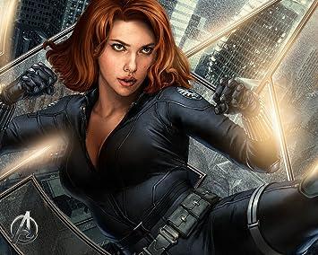 Posterhouzz Movie The Avengers Black Widow Scarlett
