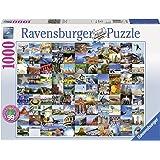 Ravensburger - Puzzle 99 Beautiful Places USA/Canada, 1000 piezas (19709)
