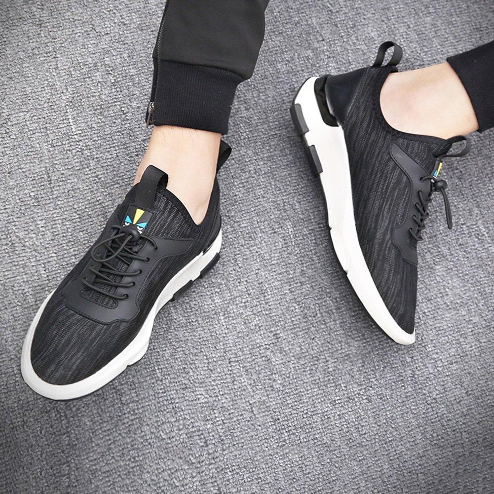 Männer Schuhe Neue Freizeit Leichte Atmungsaktive Sport und Freizeit Neue Laufschuhe Frühling Herbst Rutschfeste Atmungsaktiv Casual Schwarz a4adfb