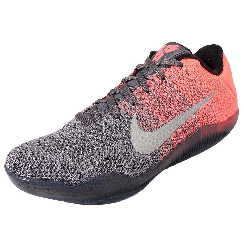 Amazon.com | Nike Men\u0027s Kobe XI Elite Low (Easter Pack) Drk Grey/Vlt-Brght  Mng-Crt Purp | Basketball