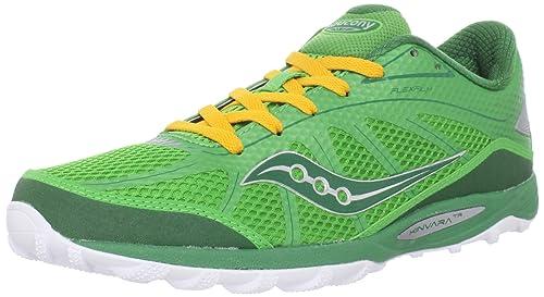 Saucony Kinvara TR - Zapatillas para correr en montaña de sintético para mujer Multicolor Grn/Yel, color verde, talla 38.5: Amazon.es: Zapatos y ...
