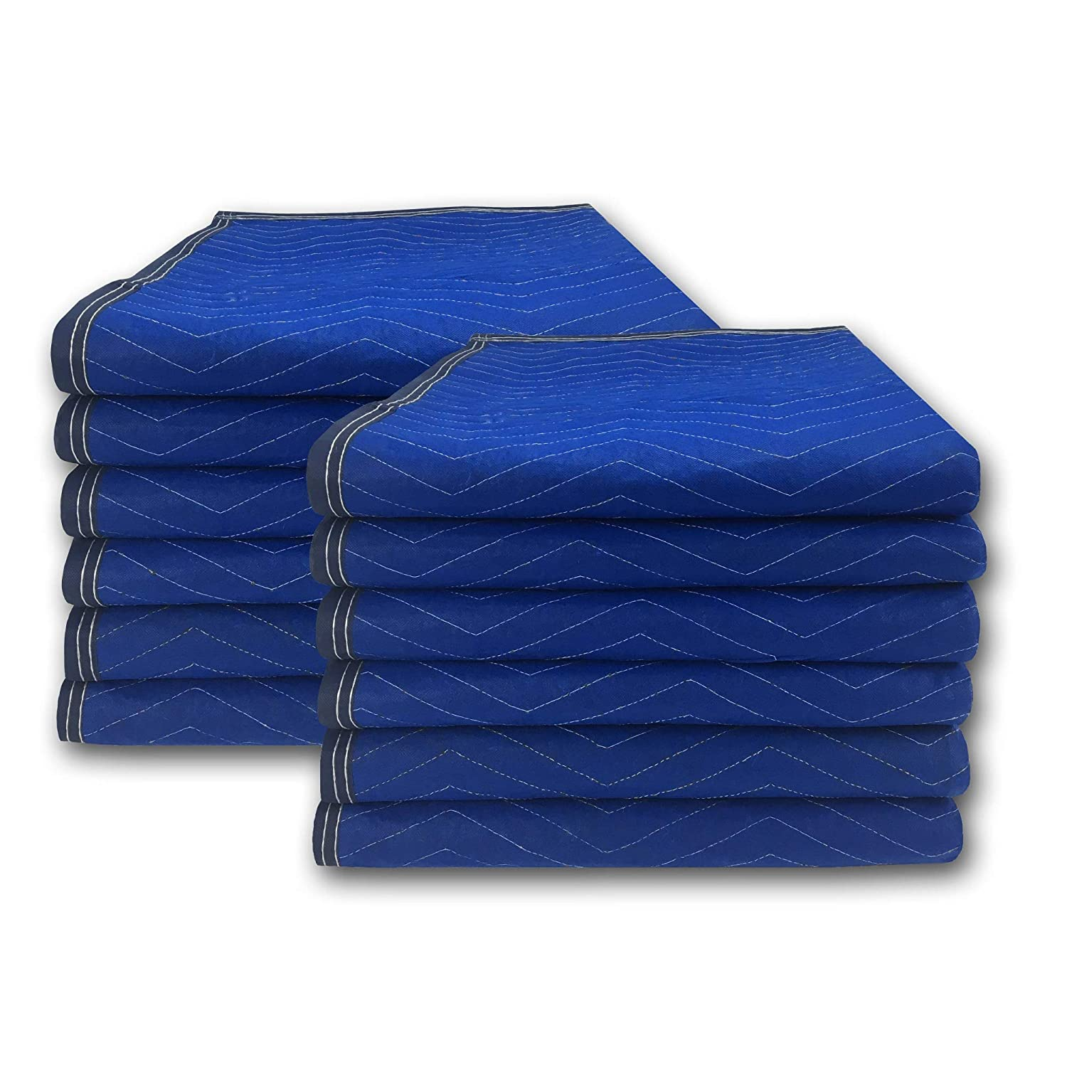 Moving Blankets 12 Economy 72x80-inches 43 lbs per Dozen Professional  Quilted Moving Blankets: Amazon.in: Home Improvement