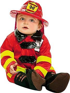 My Other Me Me-200908 Disfraz de bebé bombero, 7-12 meses (Viving ...