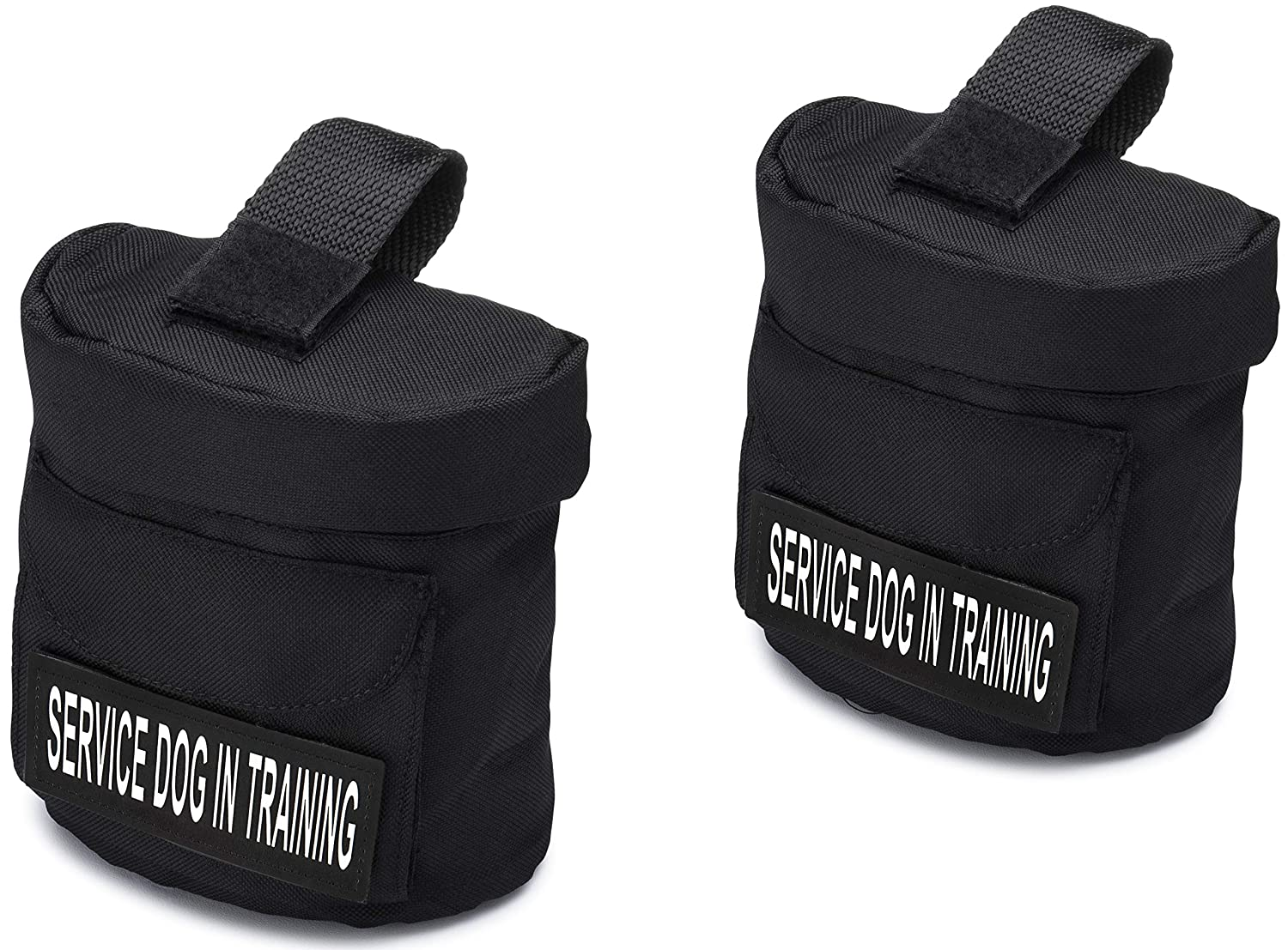 Harness Backpack for Industrial Puppy Harness with Velcro Patches (SERVICE DOG IN TRAINING)