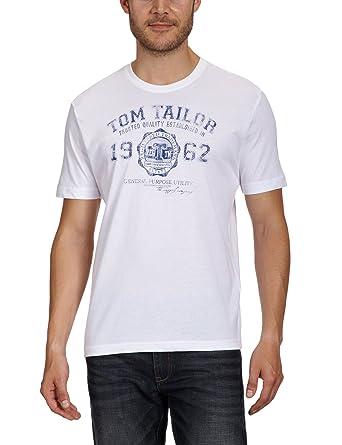 512d3dff3d9b TOM TAILOR Herren T-Shirt Logo Tee  Tom Tailor  Amazon.de  Bekleidung