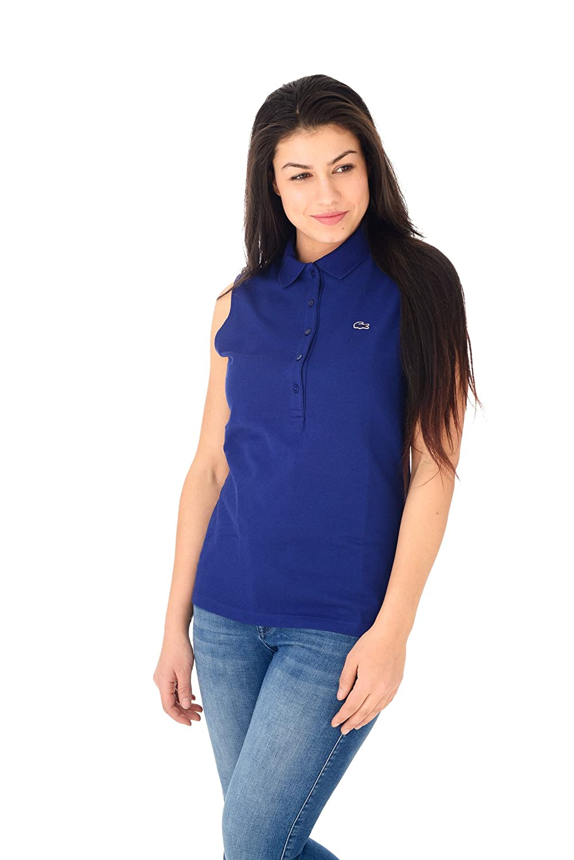 Lacoste PF5768 Polo, Azul (Oceane), 38 (Talla del Fabricante: 38 ...