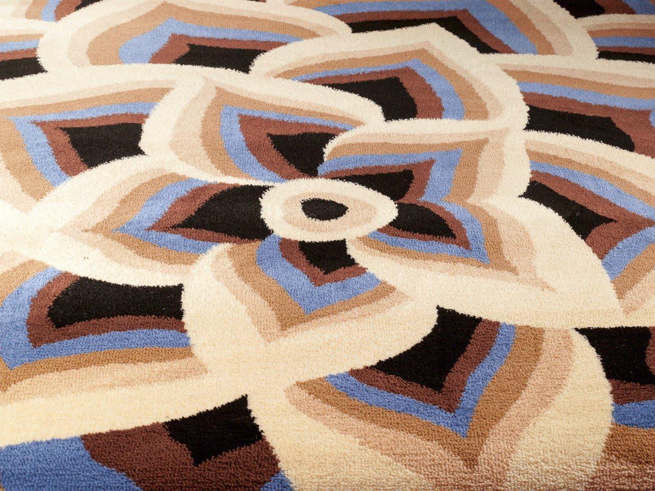 Avalon 1121 Blue 5×7 Area Rugs Carpet Contemporary