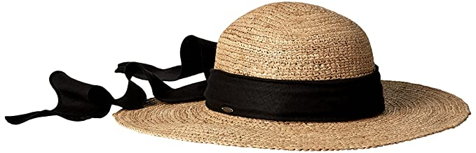 SCALA Women s Big Brim Raffia Hat f68c3d216e1b
