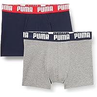 PUMA Basic Boxer Briefs (Pack de 4) para Hombre