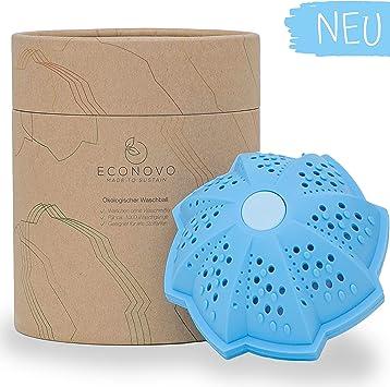 Econovo® - Bola de lavado ecológica para la lavadora (incluye ...