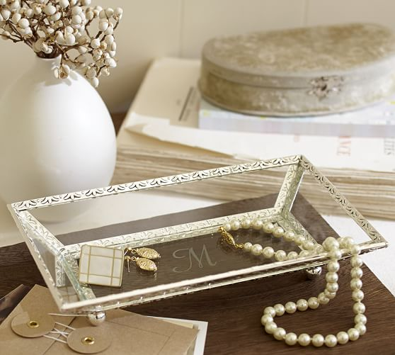 Antique Silver Display Tray | Pottery Barn