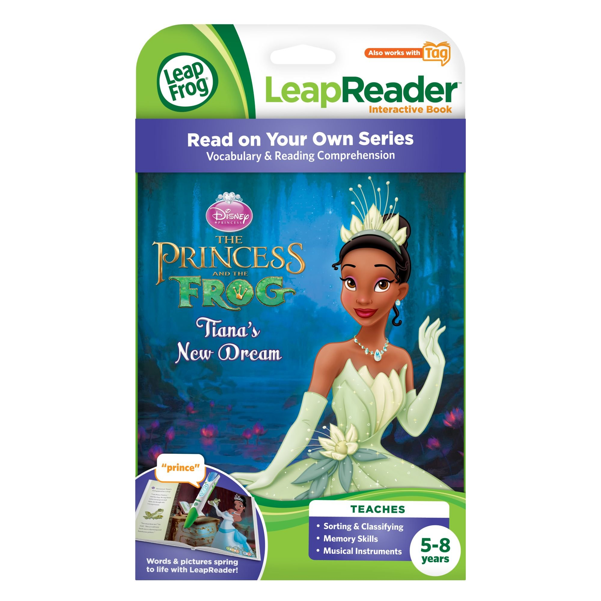 LeapFrog LeapReader Book: Disney Princess and the Frog (works with Tag) by LeapFrog (Image #3)