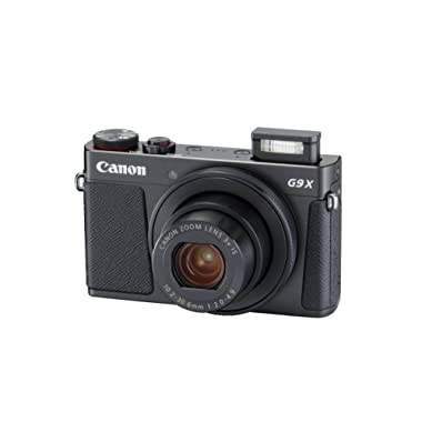 Canon PowerShot G9 X Mark II Compact Digital Camera w/ 1 Inch Sensor and 3inch LCD - Wi-Fi, NFC, Bluetooth Enabled (Black)