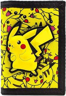 Pokemon Pikachu No.25 elettrico Giallo portafoglio