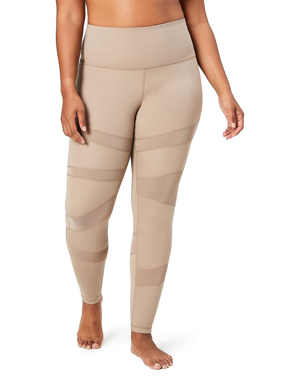 Core 10 Womens Plus-Size Icon Series - The Warrior Mesh Plus Size Legging WA118012